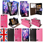 For Huawei Ascend G6 3G Printed PU Leather Magnetic Book Flip Case Cover+Stylus