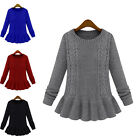 XD0016 Women Girl New Casual Long knit sweater coat Autumn Loose Outwear Tops