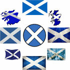 Scotland Flag Iron on T Shirt Transfer Many Designs ID1 A6 A5 & A4 Free Post