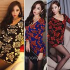 Sexy New Women Knit Slim Bodycon Bandage Club Cocktail Party Evening Mini Dress