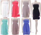 New La Live Ladies Summer Dress Sequin Embroidery  One Size 8 10 12 Diff Colours