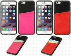 For Apple iPhone 6 4.7 CARD INSERT TPU CANDY Hard Skin Case Cover Accessory