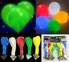 Fashion 5XCOLOURS/LED FLASHING LIGHT UP HAPPY BIRTHDAY PARTY PACK DISCO BALLOONS
