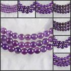 H1483-1487 Wholesale Amethyst Ball Loose Beads 15""