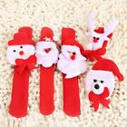 Christmas Bracelets Charms Snap Kids Santa Wristband Stocking Filter Cloth Gifts