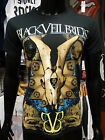 BLACK VEIL BRIDES Official Uni-Sex Tee Shirt ETCHED New 2014