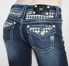 Miss Me Jeans MP6322S Crystal Tooth Hound Just In Hot Look
