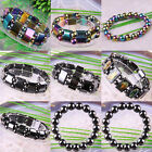 New Free Shipping Multi-color Magnetic Hematite Healing Beads Stretch Bracelet