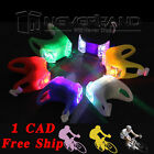 Bike Bicycle Silicone Frog Head Rear Lamp Warning Flash Light Double LED Bright