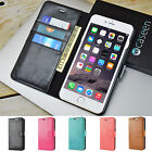 For Apple iPhone 6 / iPhone 6 Plus Leather Flip Cover Credit Card Wallet Case