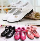 GIRLS KIDS BIRTHDAY PARTY ANKLE STRAPPY LACE PARTY SHOES
