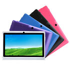 "iRULU New 7"" HD Android 4.4 Kitkat Tablet PC Quad Core Dual Cam 8GB & 16GB"