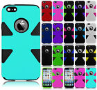 For Apple iPhone 6 4.7 IMPACT TUFF HYBRID Case Phone Cover + Screen Protector