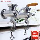 20X 8# STAINLESS STEEL MANUAL MEAT GRINDER WITH S/STEEL FOOD GRADE PLATES
