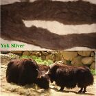 VERY VERY SPECIAL YAK SLIVER A MUST FOR SPINNERS & FELTERS JUST SO VERY SOFT