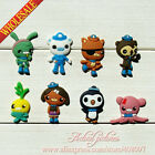8-40pcs The Octonauts PVC SHOE CHARMS.Bracelets Charms,Shoe Ornaments kids gifts