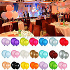 "12"" INCH LATEX HELIUM BALLOON WEDDING PARTY BIRTHDAY SUPPLIES DECORATIONS AIR"