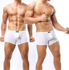 Smooth Mens Underwear Bulge Pouch Shorts Thin Boxers Brief