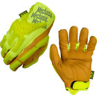 Mechanix Wear Safety High-Visibility Heavy Duty Leather Gloves - Multiple Sizes