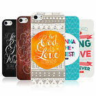 HEAD CASE FAMOUS BIBLE VERSE GEL REAR CASE COVER FOR APPLE iPHONE 5S