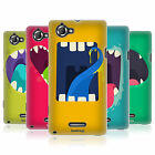 HEAD CASE GOBBLE UP GEL SKIN BACK CASE COVER FOR SONY XPERIA L C2105