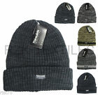 Men's Melange Thermal Beanie Hat, 3M Thinsulate Knitted Beanies Hats, 2.9 TOG