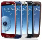 Samsung Galaxy S III SGH I747 16GB ATT Unlocked Smartphone WHITE BLUE RED B