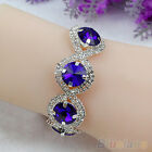 DELICATE WRAP CRYSTAL RHINESTONE BRACELET WRISTBAND DESIGN GEMSTONE BANGLE CHAIN