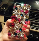 TOP Luxury colored gemstones crystal skins Case cover for iPhone6 iphone6 plus