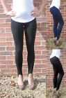 EXTRA LONG HIGH RISE STIRRUP Leggings in COMBED Cotton Elastane  SIZES 8 - 20