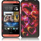 For HTC Desire 610 Rubberized HARD Protector Case Phone Cover + Screen Guard