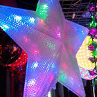 110V Big Pentagram String Fairy Light LED Lamp For Decor Wedding House Indoor