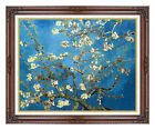 Almond Tree in Blossom Blooming Vincent van Gogh Repro Framed Canvas Art Print