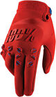 100% Airmatic Adult Gloves Red Sm-XXL