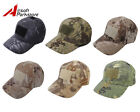 Airsoft Tactical Military Camo Adjustable Baseball Cap Hat w/ Velcro Attachment