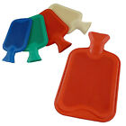 2 LITRE HOT WATER BOTTLES RED BLUE GREEN WHITE RUBBER LARGE WARMER
