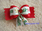 NEW Dog bows pets Grooming hair bow Christmas cute gift Pet Accessories #C19