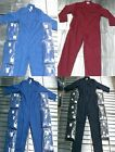 NEW MENS UNISEX BOILER SUIT OVERALL WORKWEAR MECHANIC