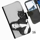 michael Jackson  Leather wallet personalised phone case for Samsung Galaxy