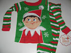 New The Elf on The Shelf boys pajamas Toddler Boys 12m 18m 24m 3T 4T 5T
