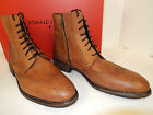 NEW DONALD J PLINER ZBOOT-11 BROWN BUFFALO WINGTIP STYLED ANKLE BOOTS W/ ZIPPER