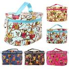 Women Owl Pattern Cosmetic Makeup Bag Case Travel Toiletry Wash Hand Beauty Bag