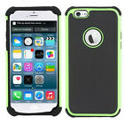 For Apple iPhone 6/6 Plus Case Hard Cover Hybrid Rubber Rugged Impact Protective
