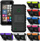 NEW GRENADE GRIP RUGGED TPU SKIN HARD CASE COVER STAND FOR NOKIA LUMIA 530 PHONE