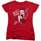 Betty Boop Cartoon Comic Icon Lover Girl Valentine Betty Women's T-Shirt $21.95 USD