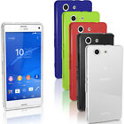 Glossy TPU Gel Case for Sony Xperia Z3 Compact D5803 D5834 Skin Bumper Cover