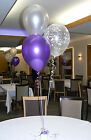 Happy Engagement Party Helium Balloons 10 Table Decorations DIY Kit All Colours