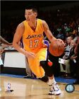 Jeremy Lin Los Angeles Lakers 2014-2015 NBA Action Photo RI099 (Select Size)