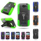 For Alcatel One Touch Fierce 2 Pop Icon A564c Dual Layer Hybrid Kickstand Case