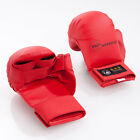 Tokaido WKF Approved Karate Mitts with Thumb in Red